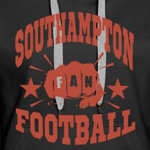 Southampton Football Fan - Sweat-shirt à capuche Premium pour femmes