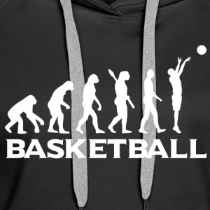 Evolution BASKETBALL wt - Women's Premium Hoodie