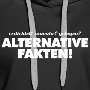 ALTERNATIVE FAKTEN - Frauen Premium Hoodie