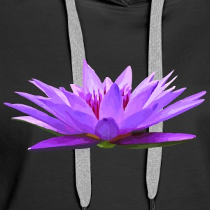 Lily - Nymphaea colorata - Premium hettegenser for kvinner