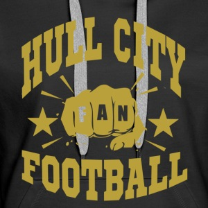 Hull City Fan - Sweat-shirt à capuche Premium pour femmes