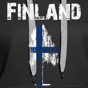 Nation-Design Finland Birch - Women's Premium Hoodie