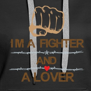 Fighter and Lover - Women's Premium Hoodie