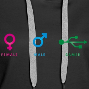 Differences - Frauen Premium Hoodie