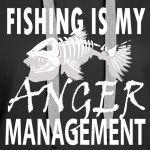 Manage your Anger - Fishing - Frauen Premium Hoodie