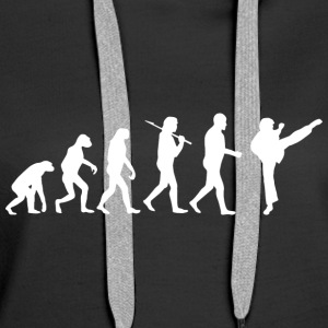 Martial Arts Evolution - Sweat-shirt à capuche Premium pour femmes