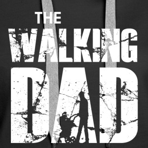 The Walking Dad - Frauen Premium Hoodie