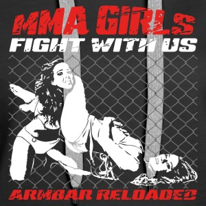 MMA Girls - Fight Wear - Mix Martial Arts - BJJ - Premiumluvtröja dam