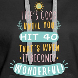 Wonderful - Women's Premium Hoodie