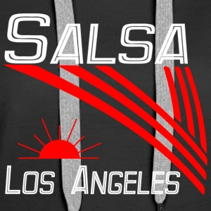 Salsa Los Angeles Classic white -Pro Dance Edition - Women's Premium Hoodie