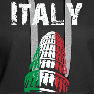 Nation-Design Italy 02 - Women's Premium Hoodie