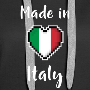 Made in Italy - Sweat-shirt à capuche Premium pour femmes