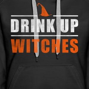 Halloween Drink up Witches outfit - Vrouwen Premium hoodie