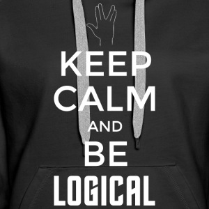 Keep Calm and be logical (light) - Women's Premium Hoodie
