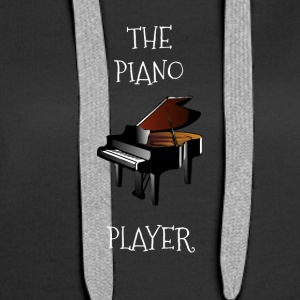 Piano player - Bluza damska Premium z kapturem
