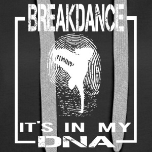 BREAKDANCE DNA ENGLISH - Frauen Premium Hoodie