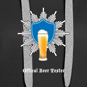 Beer coat of arms drink craft oktoberfest party festiv - Women's Premium Hoodie