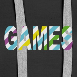 Game Stripes - Frauen Premium Hoodie