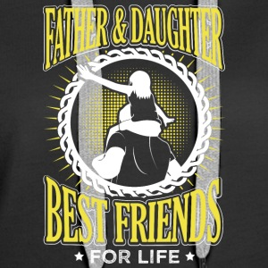 FATHER AND DAUGHTER BEST FRIENDS FOR LIFE - Women's Premium Hoodie
