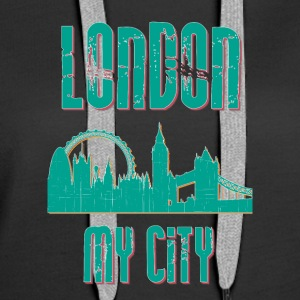 London MY CITY - Women's Premium Hoodie