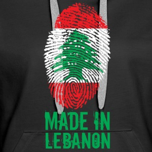 Made in Lebanon / Made in Lebanon اللبنانية - Bluza damska Premium z kapturem
