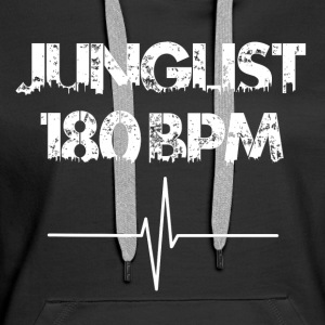 Jungle 180 bpm - Frauen Premium Hoodie