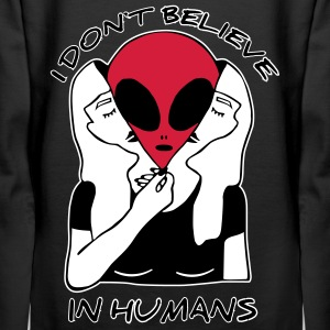 I dont believe in Humans - Frauen Premium Hoodie