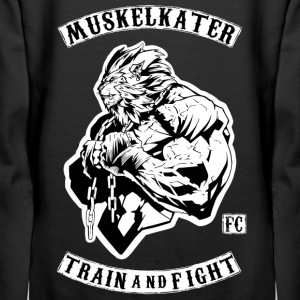 Muskelkater Fight Club - Train And Fight - Frauen Premium Hoodie