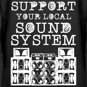 support you local soundsystem - Frauen Premium Hoodie
