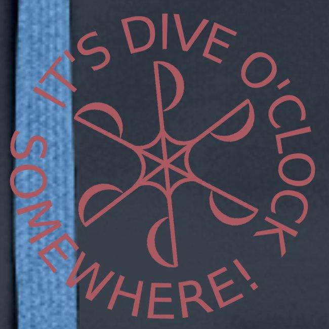 Dive o clock Dark Pink
