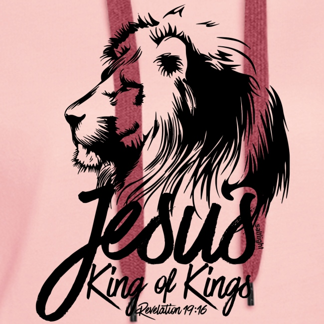LION - JESUS KING OF KINGS // Black