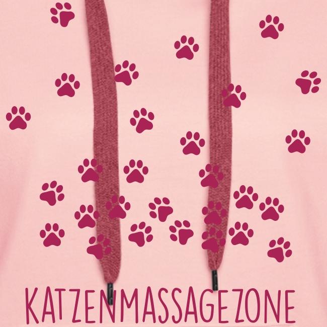 Vorschau: Katzen Massage Zone - Frauen Premium Hoodie