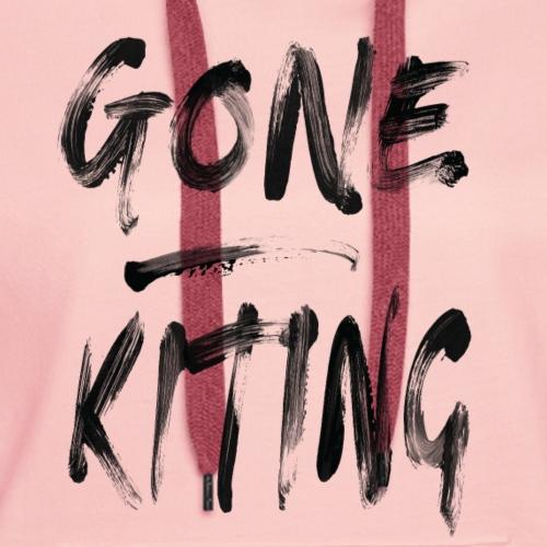 Gone kiting - Frauen Premium Hoodie