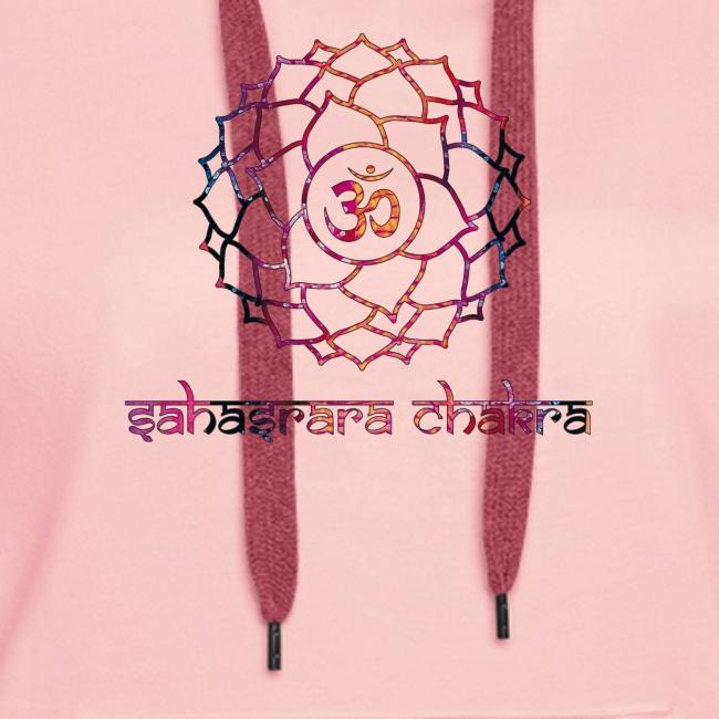 Sahasrara Kronenchakra Bunt Yoga Chakra Motiv
