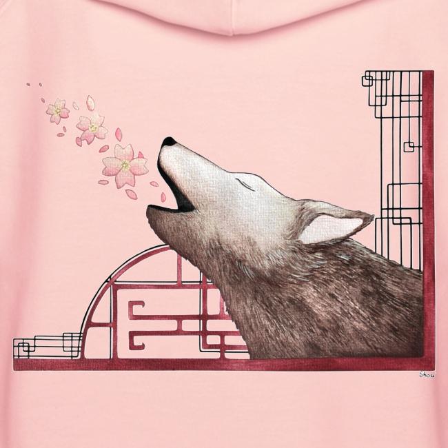Le chant du loup aux fleurs de cerisier