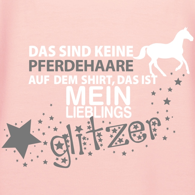 Vorschau: Glitzer Pferd - Frauen Premium Hoodie