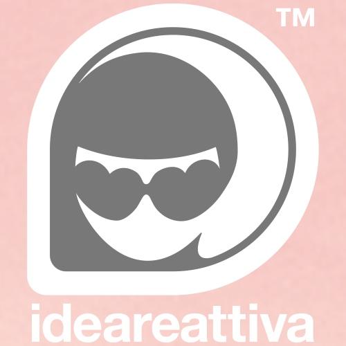 Ideareattiva Logotype - Felpa con cappuccio premium da donna