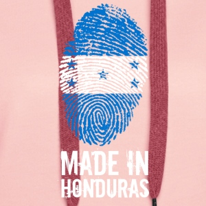 Made In Honduras - Bluza damska Premium z kapturem
