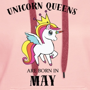 Unicorn Queens May - Women's Premium Hoodie