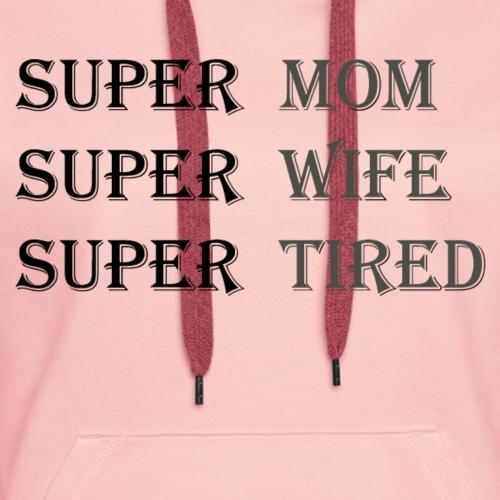 Super Mamma Collection - Premium hettegenser for kvinner