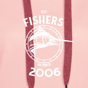 Present for fishers born in 2006 - Women's Premium Hoodie