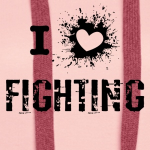 iLove Fighting - Premium hettegenser for kvinner