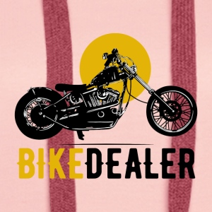 Bike Dealer · LogoArt - Premium hettegenser for kvinner