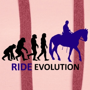 ++ ++ Ride Evolution - Premiumluvtröja dam