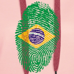 IN LOVE WITH BRAZIL - Women's Premium Hoodie