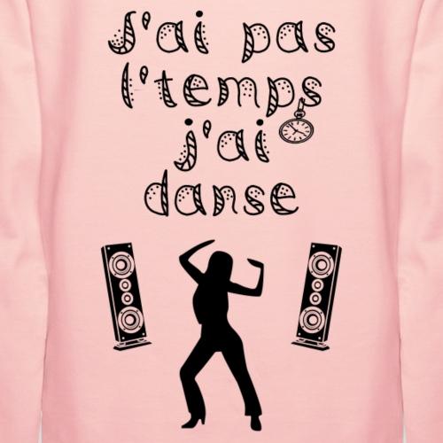 J'ai danse - Sweat-shirt à capuche Premium pour femmes