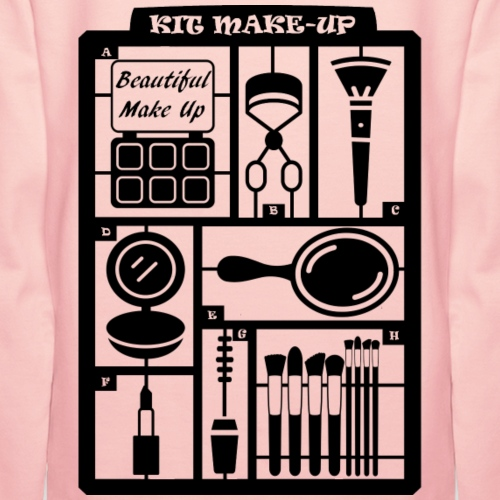 Kit make-up - Sweat-shirt à capuche Premium pour femmes
