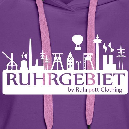 Skyline Ruhrgebiet by RPC - Frauen Premium Hoodie