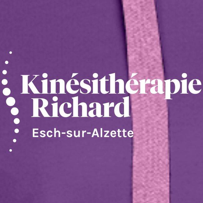 Logo Kiné Richard, White