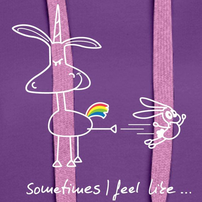 Dru - sometimes I feel like... (weisse Outline)